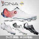2017モデルFOOTJOYフットジョイ日本正規品DNA Boa(ディーエヌエーボア)ソフトスパイクゴルフシューズウィズ:W(EE…