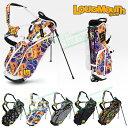 2017モデルLOUDMOUTH GOLF(ラウドマウス ゴルフ日本正規品)8.5型スタンドバッグ「LM−CB0007」【あす楽対応】