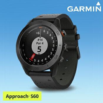 2017モデルガーミン(GARMIN)日本正規品高性能GPS距離測定器腕時計型GPSゴルフナビAPPROACH(アプローチ) S60プレミアムモデル「010-01702」【あす楽対応】