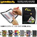 LOUDMOUTH GOLF ラウドマウス日本正規品 スコアカードホルダー (パターカバーキャッチャー付き) 2017モデル 「LM-CH00…