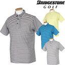 BridgestoneGolf ブリヂストンゴルフウエア 春夏ウエア 半袖ボタンダウンシャツ FGM12A 【あす楽対応】