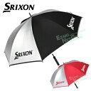 ダンロップ日本正規品 SRIXON(スリクソン) UVカット率99%以上 晴雨兼用 ゴルフアンブレラ(銀傘) 2018新製品 「GGP-S00…