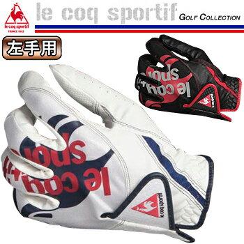 le coq sportif ルコックスポルティフ日本正規品 左手用ゴルフグローブ 「QQ8064」【あす楽対応】
