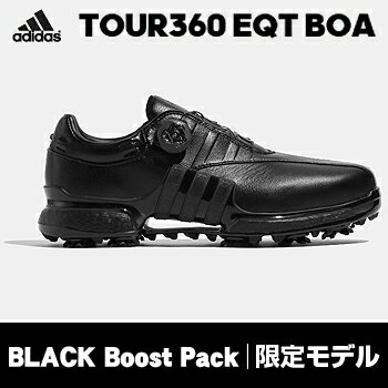 【限定モデル】アディダスゴルフ日本正規品TOUR360EQTBoaBLACKBoostPackソフトスパイクゴルフシューズ2018新製品「WI975」【あす楽対応】