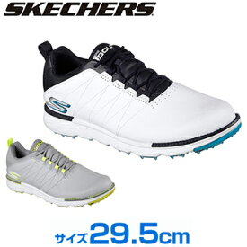 【【最大3000円OFFクーポン】】SKECHERS(スケッチャーズ)日本正規品 GO GOLF ELITE V.3 スパイクレスゴルフシューズ 2018モデル サイズ:29.5cm 「54523」【あす楽対応】