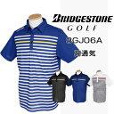 BridgestoneGolf ブリヂストンゴルフウエア 春夏ウエア 半袖台付共衿シャツ 3GJ06A【あす楽対応】