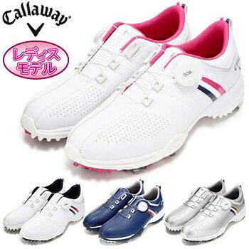 Callaway(キャロウェイ)日本正規品 AEROSPORT BOA WM 18 (エアロスポーツボアウィメンズボア18) ソフトスパイクゴルフシューズ 2018新製品 「247-8983802」 レディスモデル【あす楽対応】
