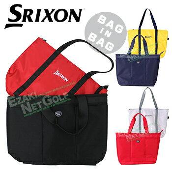 ダンロップ日本正規品 SRIXON(スリクソン) ゴルフトートバッグ2018新製品 保冷バッグ付き 「GGF-B7005」【あす楽対応】