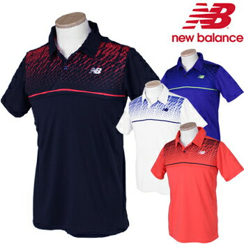 NewBalance(ニューバランス) ベーシックパーツプリントゲームポロシャツ JMTT8015【あす楽対応】
