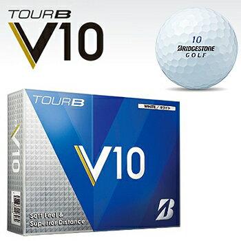ブリヂストンゴルフ日本正規品TOUR B V10(ツアービーブイテン)ゴルフボール1ダース(12個入)【あす楽対応】