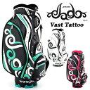JADO(ジャド) Vast Tattoo Series ヴァストタトゥー シリーズ 限定 キャディバッグ 新色追加 2018新製品 「JGCB7871-0…