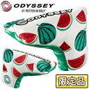 【限定品】 Odyssey(オデッセイ)日本正規品 F Blade Putter Cover Summer 18JM エフブレードパターカバー サマー18JM ...