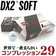 WilsonStaff(ウィルソンスタッフ)日本正規品DX2SOFTゴルフボール1ダース(12個入り)2018新製品「37330」【あす楽対応】