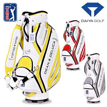 DAIYA GOLF(ダイヤゴルフ) ダイヤコーポレーション日本正規品 US PGA TOUR (DEAN&DELUCA Invitational) キャディバッグ 3068 2018モデル 「CB-3068」【あす楽対応】