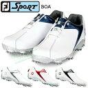 【【最大3300円OFFクーポン】】FOOTJOY(フットジョイ)日本正規品 SPORT Boa(スポーツボア) ソフトスパイクゴルフシュ…