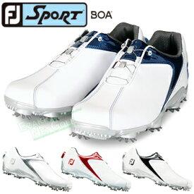 FOOTJOY(フットジョイ)日本正規品 SPORT Boa(スポーツボア) ソフトスパイクゴルフシューズ 2018モデル ウィズ:W(EE)【あす楽対応】
