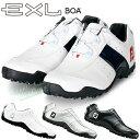 FOOTJOY(フットジョイ)日本正規品 EXL Spikeless Boa (EXLスパイクレスボア) スパイクレスゴルフシューズ ウィズ:W(EE) 【あす楽対応】