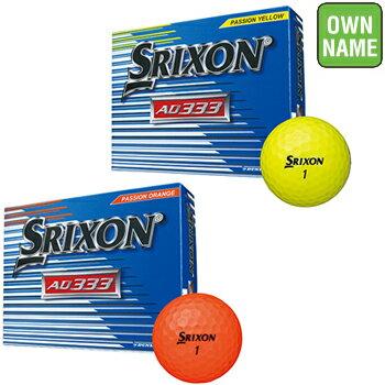 【文字オンネーム】ダンロップ日本正規品SRIXON(スリクソン)AD3332018モデルゴルフボール3ダース(36個入)「SNAD7」