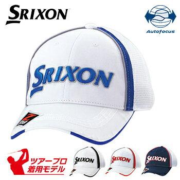 ダンロップ日本正規品 SRIXON(スリクソン) オートフォーカス ゴルフメッシュキャップ 2018モデル ツアープロ着用モデル 「SMH8132X」【あす楽対応】