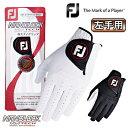 FOOTJOY(フットジョイ)日本正規品 NANOLOCK TECH (ナノロック テック) メンズ ゴルフグローブ(左手用) 「FGNTC18」 【あす楽対応】