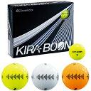 kasco(キャスコ)日本正規品 KIRA BOON(キラブーン) ゴルフボール1ダース(12個入) 「三角ターゲットマークタイプ」 【あす楽対応】