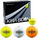 kasco(キャスコ)日本正規品 KIRA BOON(キラブーン) ゴルフボール1ダース(12個入) 「矢印ターゲットマークタイプ」 【あす楽対応】