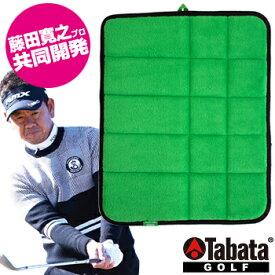 Tabata(タバタ)日本正規品 藤田タッチマット(寄せワンアプローチ) 「GV-0287 GR」 「ゴルフアプローチ練習用品」 【あす楽対応】