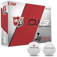 【限定品】WilsonStaff(ウィルソンスタッフ)日本正規品DX3SOFTSPINゴルフボール1ダース(12個入り)2018新製品【あす楽対応】