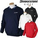 BridgestoneGolf ブリヂストンゴルフ TOUR B 秋冬ウエア 長袖Vネックブルゾン KGM04D 【あす楽対応】