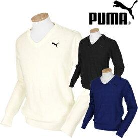 PUMAGOLF プーマゴルフ 秋冬ウエア カモVネックセーター 923765 ビッグサイズ(XXL) 【あす楽対応】