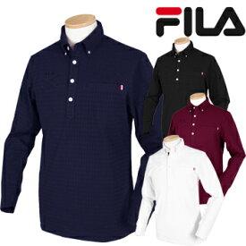 FILA GOLF フィラゴルフ 秋冬ウエア ダイヤジャガード長袖シャツ 788508 【あす楽対応】