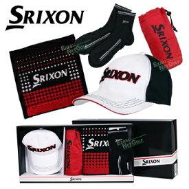 ダンロップ日本正規品 SRIXON(スリクソン) キャップ・ハンドタオル・ ペットボトルホルダー・ソックスセット ギフトセット 「GGF-50374」【あす楽対応】