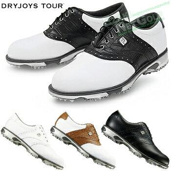 FOOTJOY(フットジョイ)日本正規品DRYJOYSTOURLase(ドライジョイズツアー)ソフトスパイクゴルフシューズ2018新製品ウィズ:W(EE)【あす楽対応】