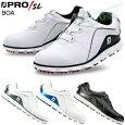 FOOTJOY(フットジョイ)日本正規品PRO/SLBoa(プロエスエルボア)スパイクレスゴルフシューズ2018新製品ウィズ:W(EE)【あす楽対応】