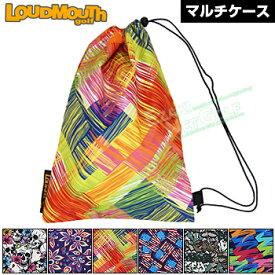 LOUDMOUTH GOLF ラウドマウス日本正規品 マルチケース 2018モデル 「LM-MC0001」【あす楽対応】