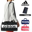 adidas Japan アディダスジャパン日本正規品 リニアロゴ チームバッグ Sサイズ 2018モデル スポーツ ボストン バッグ …