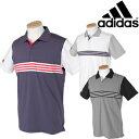 adidas Golf アディダスゴルフ 春夏ウエア ULTIMATE365 3ストライプ ポロシャツ DRE52 【あす楽対応】