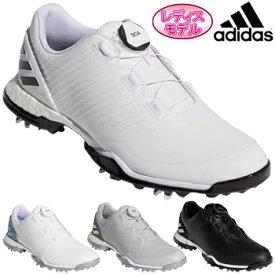 adidas Golf(アディダスゴルフ) 日本正規品 W ADIPOWER 4ORGED BOA (ウィメンズアディパワーフォージドボア) ソフトスパイクゴルフシューズ 2019モデル 「BTF17」 レディスモデル【あす楽対応】