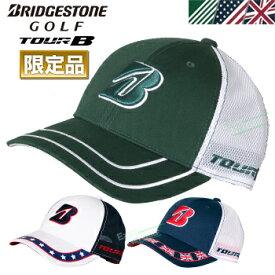 【限定品】 BRIDGESTONE GOLF ブリヂストンゴルフ日本正規品 TOUR B MAJOR COLLECTION (メジャーコレクション) ハーフ メッシュ ゴルフ キャップ 2019モデル 「CPGJ91」【あす楽対応】