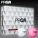 PRGR(プロギア)日本正規品NEW SOFT DISTANCE(ニューソフトディスタンス)ゴルフボール1ダース(12個入り)