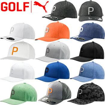 【【最大2222円OFFクーポン】】PUMAGOLF(プーマゴルフ) 日本正規品 ゴルフPマークスナップバックキャップ 2019モデル 「021448」 【あす楽対応】
