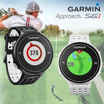 2015新製品ガーミン(GARMIN)日本正規品高性能GPS距離測定器腕時計型GPSゴルフナビAPPROACH(アプローチ)S6J【あす楽対応】