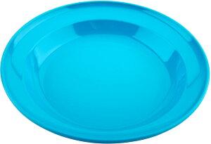 CAPTAIN STAG(キャプテンスタッグ) ホリデージョイ 抗菌 丸型カレー皿 22cm (ブルー)