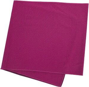ノーブランド 気化熱のチカラ 水冷感タオル ピンク