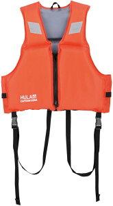 CAPTAIN STAG(キャプテンスタッグ) HULAフローティングベスト大人用 RD ライフジャケット フローティングベスト アウトドア 川 海 水遊び 安全