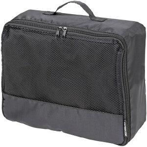 CAPTAIN STAG(キャプテンスタッグ) トラベル ケース L ポーチ 旅行 スーツケース 整理 アウトドア 衣類収納 メッシュ