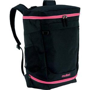 モルテン バックパック 黒ピンク mrt-lb0042km