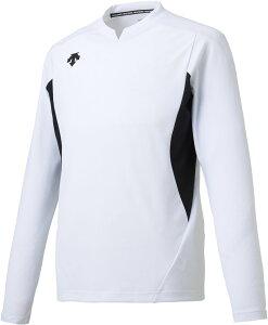 デサント(DESCENTE) 長袖ゲームシャツ ホワイト