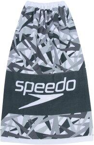 Speedo(スピード) スタックラップタオル M ブラック