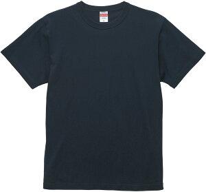 UnitedAthle(ユナイテッドアスレ) 6.0オンス オープンエンド バインダーネック Tシャツ XXL ディープネイビー